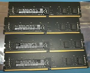 SKHYNIX PC4-21300/DDR4-2666 - 32GB (4x8GB) ECC RDIMM - IMAC PRO/SERVER MEMORY