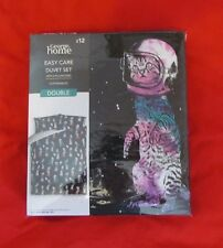 CATSTRONAUTS ||DOUBLE bedding set|| George Home Asda *SOLD OUT RANGE*