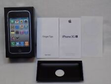 Apple IPhone 3 GS 8GB Box ONLY Tray Paperwork NO PHONE