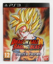 DRAGON BALL RAGING BLAST LIMITED EDITION PLAYSTATION 3 PS3 PLAY STATION PAL ESP