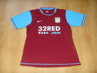 Aston Villa Soccer Jersey Nike Top Football Shirt Player