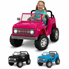 Classic Ford Ride-on Toy Bronco 6-volt Kid Trax Rubber Ages 3 5 Pink Fun Never