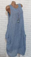 Sommerkleid  Tunika Maxikleid Hippie Bluse  42-44-46-48-50 Übergrösse