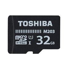 Toshiba 32GB, Class 10, 100MB/s microSDHC Karte (THN-M203K0320EA)