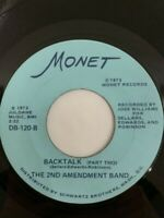 2nd Amendment Band Backtalk  Rare FUNK 45 NM
