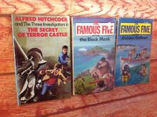 2 X THE FAMOUS FIVE CHILDRENS BOOKS & Alfred Hitchcock Three Investigators