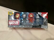 MARVEL BOBBLE HEADS - IRONMAN HALL OF ARMOUR FIGURES