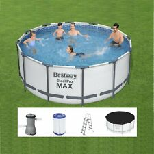 Bestway 56420 Pro Max Swimming Pool 366x122 Round Steel