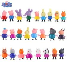 PEPPA PIG 25 FIGURE CARTOON HEROES KIDS PVC