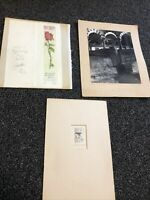 Lot Of 3 Original Betty Guy Personalized Art Pieces SIGNED