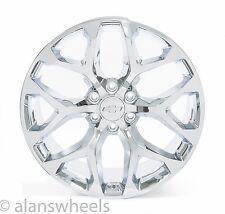 "4 NEW Chevy Silverado Avalanche Chrome 22"" Wheels Rims Lug Nuts Free Ship 5668"