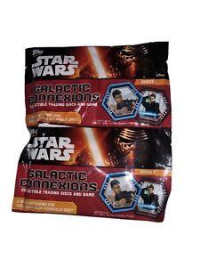 Topps Star Wars Galactic Connexions Disc Game Walmart Exclusive Lot - 50 Sealed