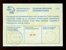 JAPAN 1976 REPLY PAID COUPON IRC 90 yen...LAST DAY of USE