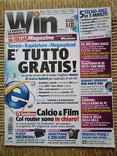 RIVISTA WIN MAGAZINE N. 2(149) Febbraio 2011 Mensile di informatica pc