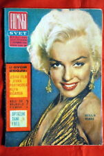 MARILYN MONROE ON COVER VERY RARE EXYU MAGAZINE 1964