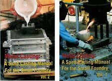 Metal Casting by Steve Chastain Vols. 1 & 2 (2 books)