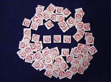 OERTELS 92 BEER ORIGINAL VINTAGE BINGO COVERS CARDBOARD ADVERTISING 100 PCS