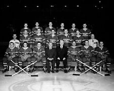 Montreal Canadiens 1954-55 NHL Season Team Unsigned 8x10 Photo