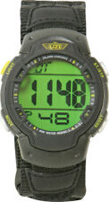 Uzi Guardian Watch UZI-89-N Black nylon wrist strap. Features enlarged digital r