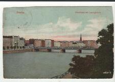 AK Breslau Uferstrasse Lessingbrücke gel. Mängel