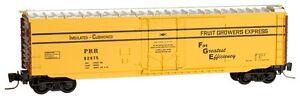 NIB Z MTL #50700502 50' Plug Door Boxcar Pennsylvania #92875