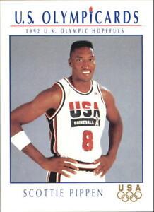 1992 Impel U.S. Olympic Hopefuls #15 Scottie Pippen Basketball