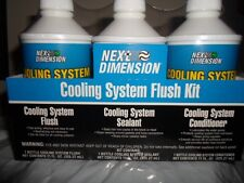 AMREP Auto Car Air Conditoner A/C Cooling System Flush Kit Radiator Sealant