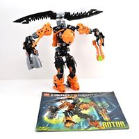 LEGO Hero Factory Rotor Set 7162 Complete with Instructions No Box