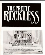 THE PRETTY RECKLESS Taylor Momsen LIGHT ME UP Stickers 3-count