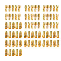 80 Pcs 3.5mm Gold-plated Bullet Banana Plug Connector RC Battery Male&Female USA