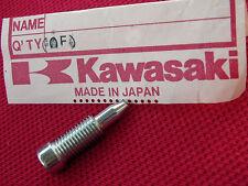 KAWASAKI 92009-1551 CARB DRAIN SCREW KLR250 KLR650 KLX300R EX250 ZX6 ZX7 ZX10 OE