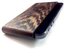 IPHONE 5/5S SE IWOODEN SOLID WENGE WOOD POUCH  GENUINE ULTIMATE PROTECTION COVER