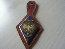 INSIGNE 5ème  Cuirassiers - Royal Pologne -arthus bertrand   sur cuir  ref  A