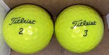 Titleist Tour Soft Neon Yellow Golf Balls