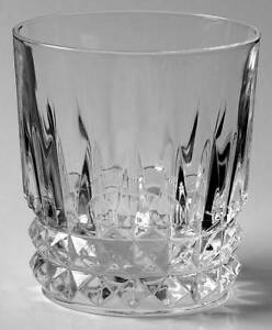 Cristal D'Arques-Durand Tuilleries Villandry Old Fashioned Glass 91077