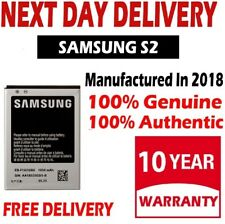 New Genuine Samsung Galaxy S2 SII GT-i9100 Battery EB-F1A2GBU (OEM Original)