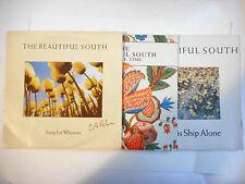 """THE BEAUTIFUL SOUTH : 3 x 7"""" ► Lot 45 Tours (7"""") ◄ Port GRATUIT"""