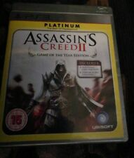 Assassins Creed II 2 Game Of The Year Edition Sony Playstation 3 PS3 Game