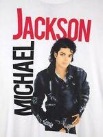 Michael Jackson Mens T Shirt White Size 2XL