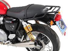 HEPCO BECKER Rohrgepaeckbruecke schwarz Triumph Thruxton und Thruxton R ab 2016