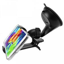 Easy One Hand Clipper Mount Car Phone Holder Dash Windshield Glass Cradle Dock