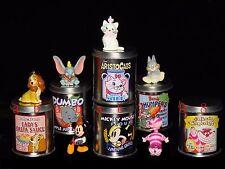 Yujin Disney Mickey Cheshire Cat Dumbo Metal Can & swing figure gashapon