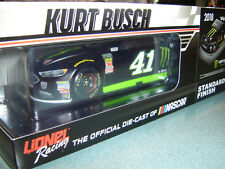 2018 KURT BUSCH #41 MONSTER ENERGY FORD FUSION 1/24 FREE SHIPPING NEW IN STOCK