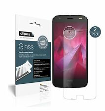 2x Lenovo Moto Z2 Play Screen Protector matte Flexible Glass 9H dipos