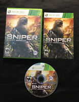 Sniper Ghost Warrior — Complete w/ Manual! Fast Free Shipping! (Xbox 360, 2010)