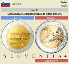 PREVENTA moneda de 2€ euros de Eslovenia 2020, leer el anuncio.