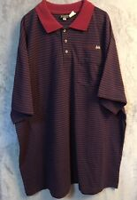 "Edwards Casual Wear Golf Polo ""Expect To Win"" Embroidered on Chest Sz XXL  #wo53"