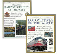 Classic Railway Journeys of the West & Locomotives of the World (2 Paperback)