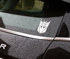 "Decepticon vinyl sticker 4""high also available in black car/laptop/window"