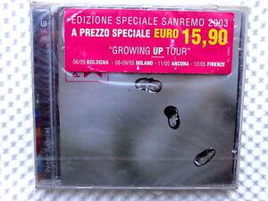 PETER GABRIEL  -  GROWING UP TOUR  - ED. SPECIALE SANREMO 2003 NUOVO E SIGILLATO